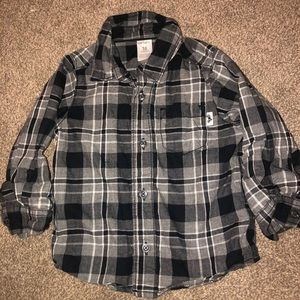 18m boys button up shirt